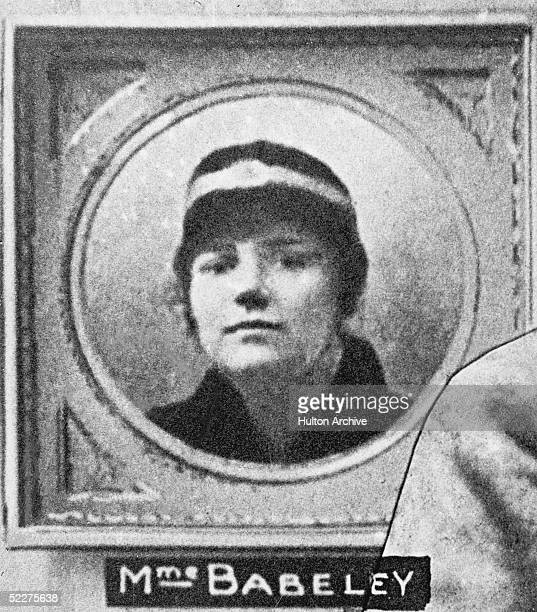 19yearold serving girl Andree Babelay who was murdered by French serial killer Henri Desire Landru in March 1917