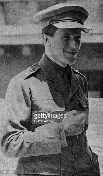 British soldier, adventurer and author Thomas Edward Lawrence known as Lawrence Of Arabia. He joined the Arab revolt against the Ottoman Empire...