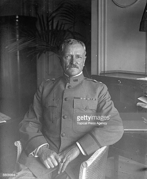 US General John Pershing nicknamed Black Jack CommanderinChief of the US Expeditionary Force in Europe during World War I