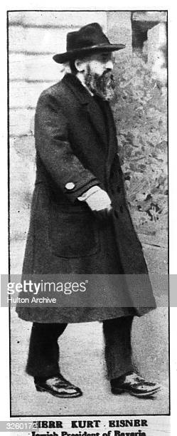 Kurt Eisner Jewish President of Bavaria who was shot in the street by a Nationalist German officer on 21st February 1919 Original Publication The...