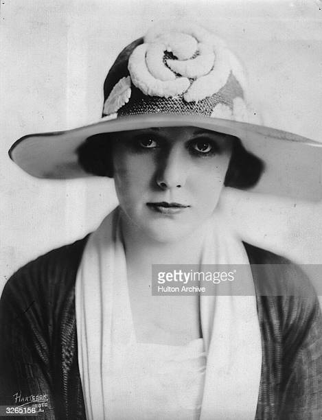 Edna Purviance the American actress of silent films who often featured as Charlie Chaplin's leading lady.