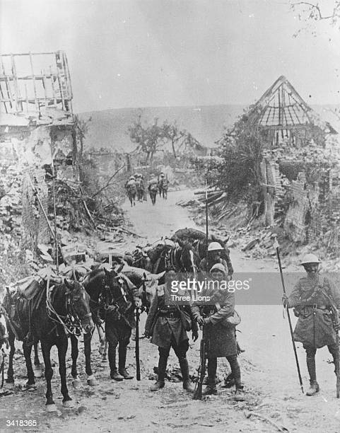Indian army under British command in France