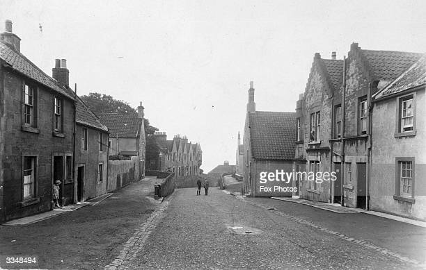 A near deserted street in Shoregate Crail Fife Crail is the most easterly of villages on the East Neuk coast and was once a favourite haunt of...