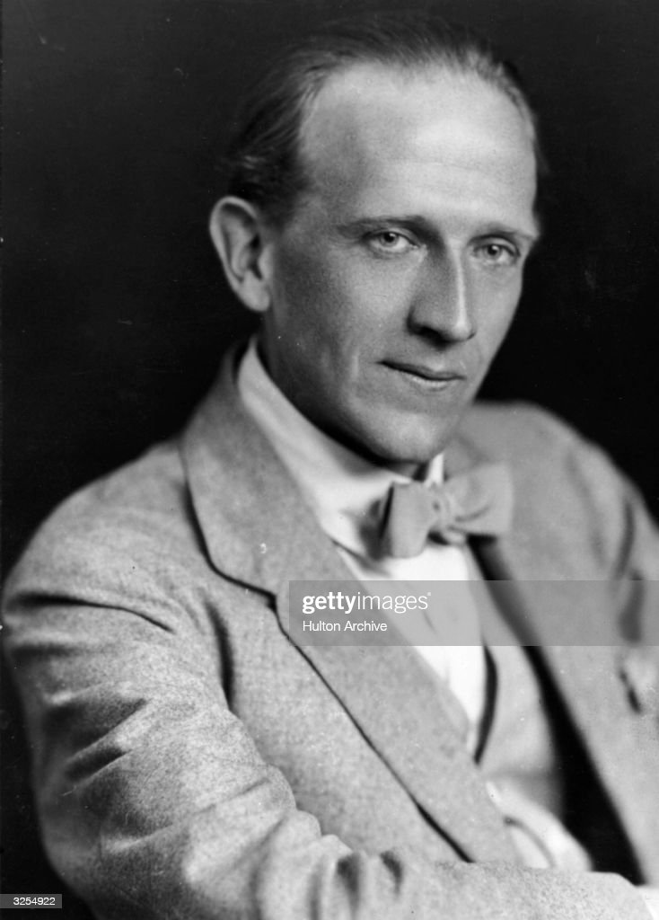 Alan Alexander Milne (1882 - 1956), author of the famous 'Winnie the Pooh' books for children.