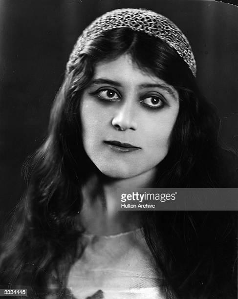 American actress and vamp Theda Bara