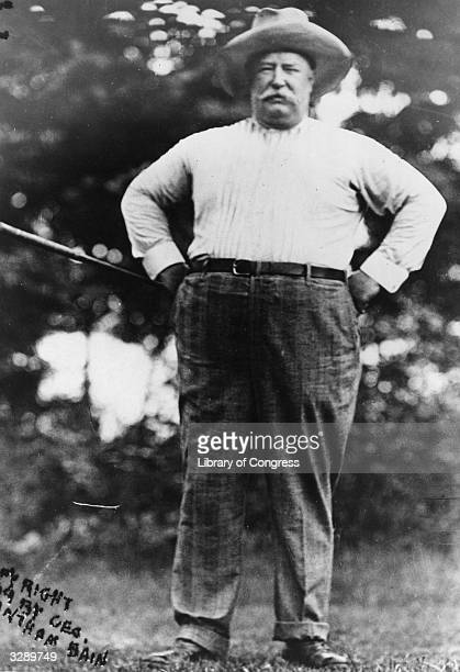 American politician William Howard Taft the former President of the United States of America and Chief Justice of the Supreme Court
