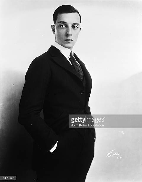 American silent screen comedian and actor Buster Keaton
