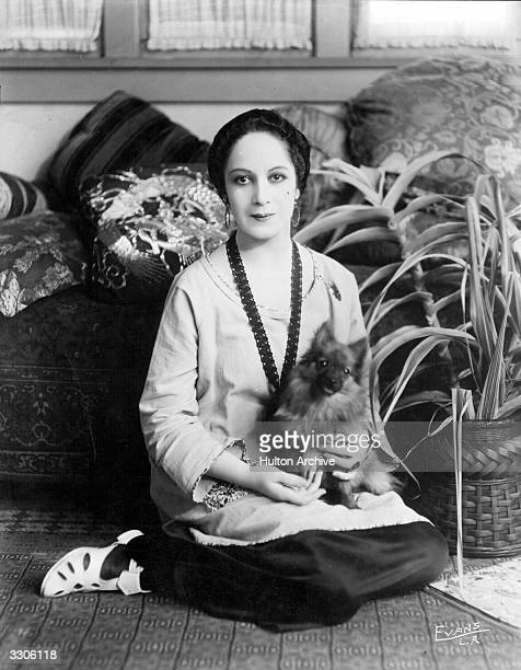 Claire Du Bray the French actress who appears in Thomas H Ince's 'Americanism va Bolshevism'