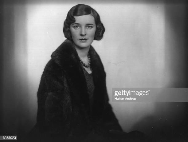 Diana Cicely, Viscountess Bury, wife of Viscount Bury , nee Diana Grove.
