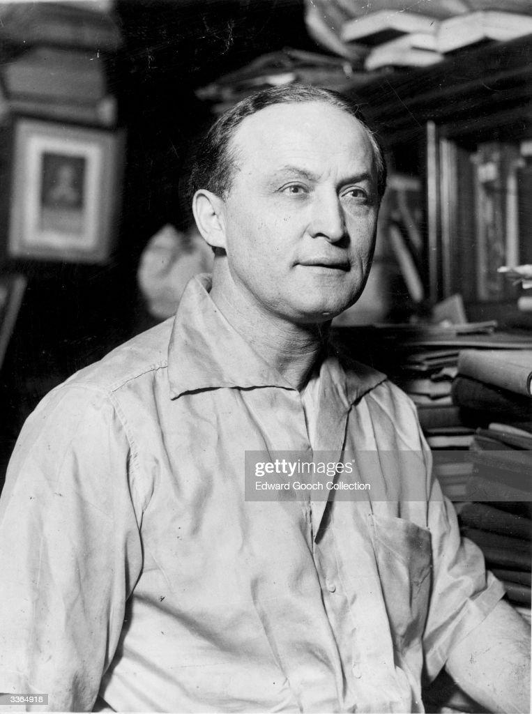 Harry Houdini : News Photo