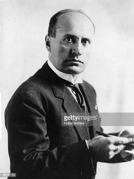 Italian dictactor Benito Mussolini