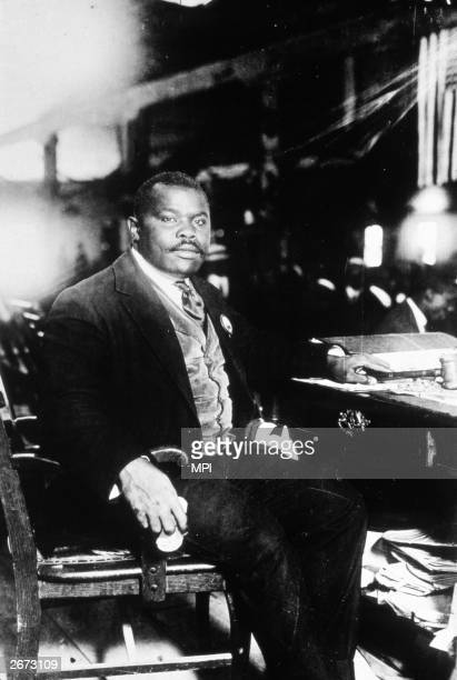 Jamaican born AfricanAmerican nationalist Marcus Garvey the founder of the Universal Negro Improvment Association he promoted the back to Africa...