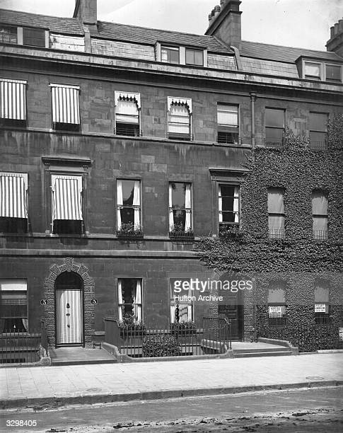 No 4 Sydney Place Bath the town residence of English novelist Jane Austen and family for a period of about four years