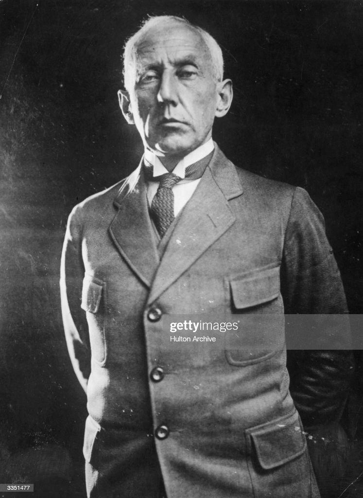 Norwegian arctic explorer Captain Roald Amundsen (1872-1928).