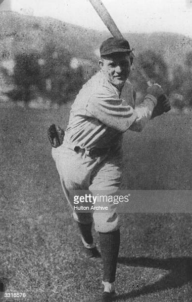 Rogers Hornsby of the Chicago Cubs baseball team who was National League batting champion for six consecutive years between 1920 and 1925