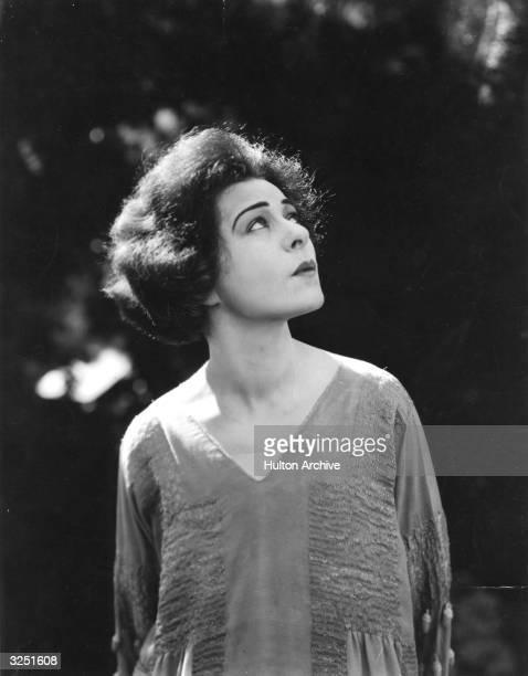 Russianborn Hollywood film star and actress Alla Nazimova
