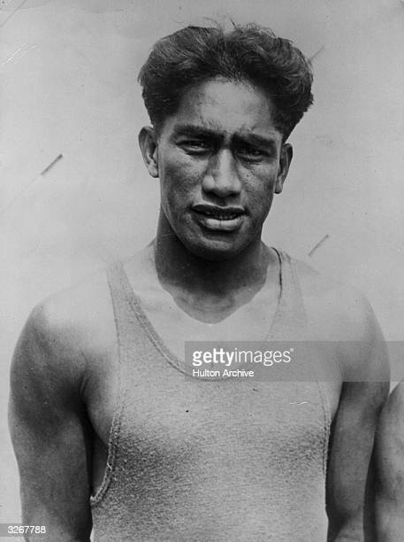 The famous Hawaiian swimmer Duke Kahanamokuwho single handedly rescued six people from drowning after a fishing yacht capsized off the Californian...