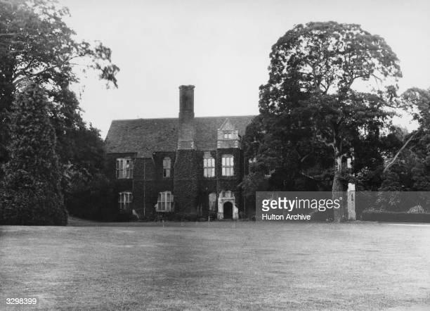The Old Manor House Steventon home of novelist Jane Austen