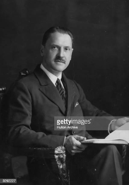 William Somerset Maugham British novelist and dramatist born in Paris Original Artist By Elliott Fry