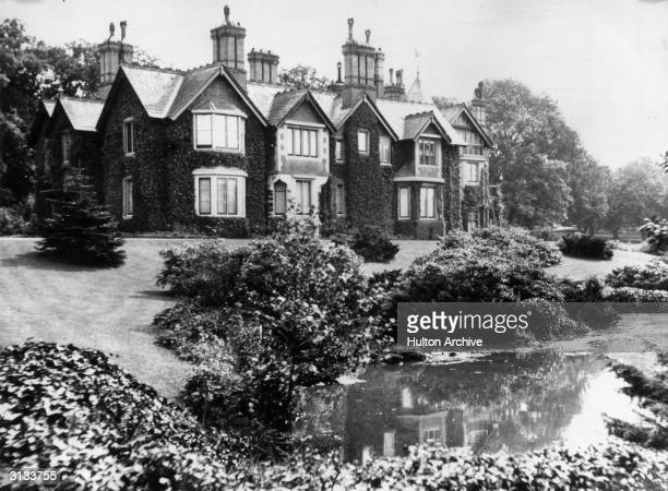 York Cottage on the Sandringham Estate the country home of the Prince and Princess of Wales