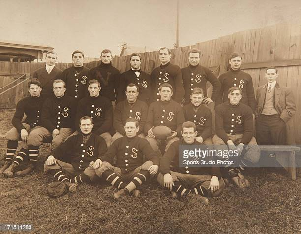 Circa 1920's S Athletic Club football team photo