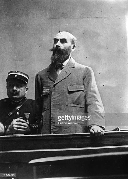 French mass murderer Henri Desire Landru in court In 1921 he was tried for the murders of 10 women and a boy all committed between 1915 and 1919 He...