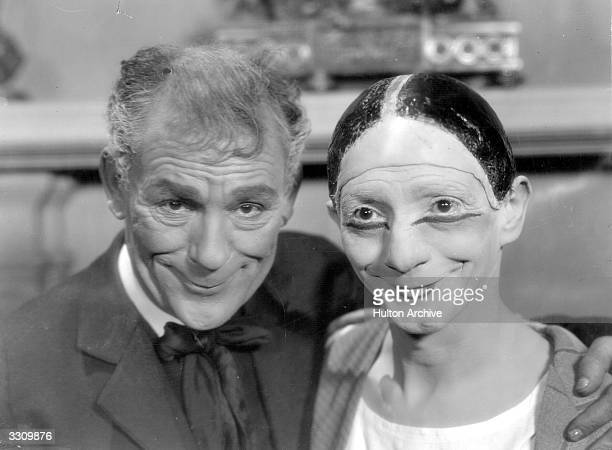 MGM actor Lon Chaney with Toto his old vaudeville friend and colleague