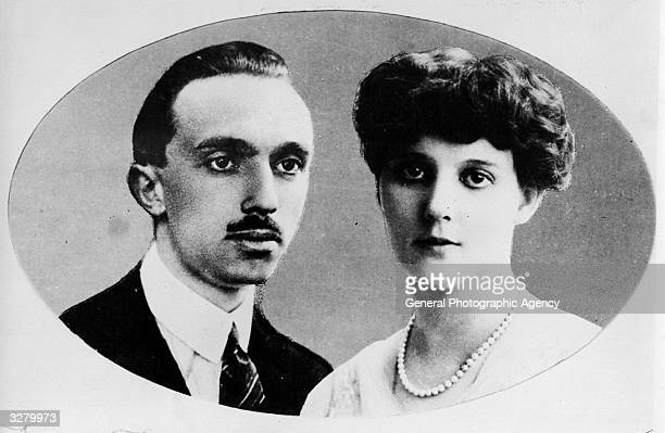 Prince Rene of BourbonParma and his wife Princess Margaret of BourbonParma nee Princess Margaret of Denmark They married in 1921