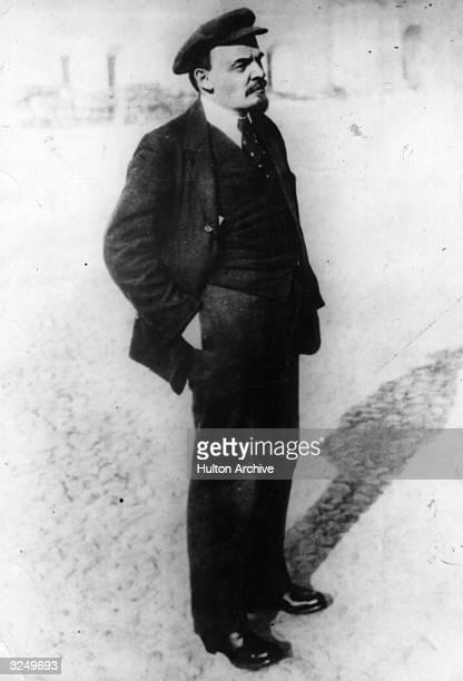 Russian revolutionary Vladimir Ilyich Lenin