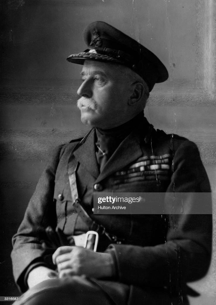 Sir John Denton Pinkstone French, Earl of Ypres, (1852 - 1925) British Field Marshal.