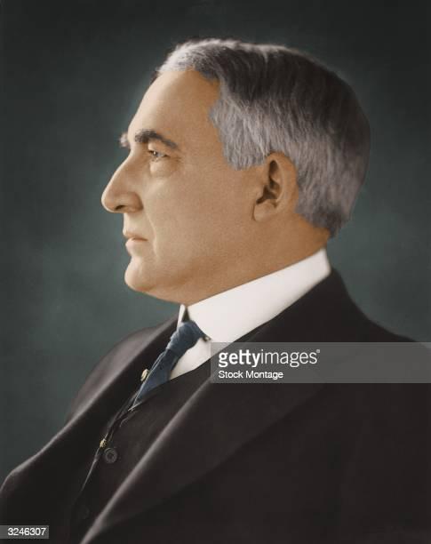 Warren G Harding twentyninth president of the United States of America