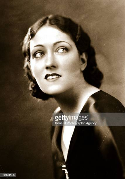Gloria Swanson originally Gloria Svensson the leading lady of the silent screen who started her career as a Mack Sennett bathing beauty