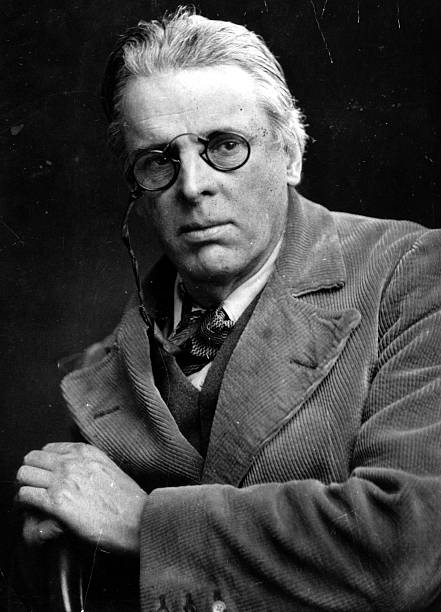 Irish poet William Butler Yeats , winner of the Nobel...