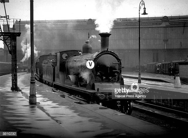 The Ascot Special leaving Waterloo Station London