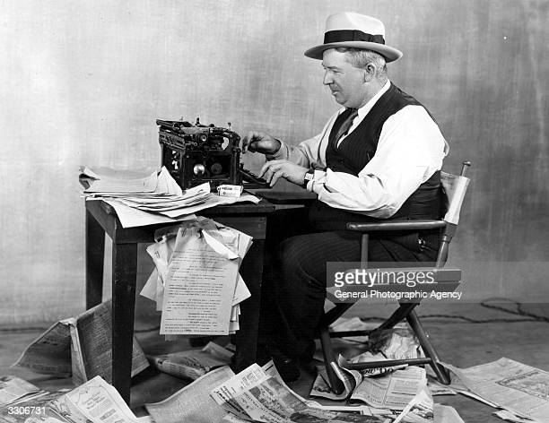 Waldemar Young the MGM scenarist and screenwriter was formerly a newspaperman and has never got out of the habit of typing and preparing his own...