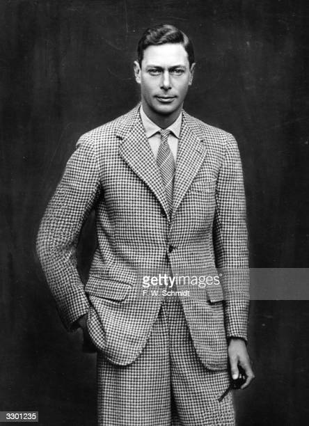Duke of York , later King George VI, standing pose.