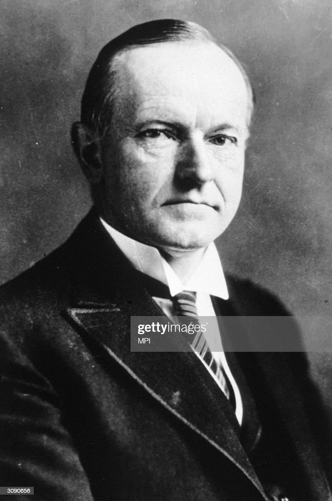 Calvin Coolidge : News Photo