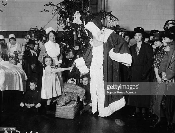 A Christmas party at Queens Hospital Bethnal Green