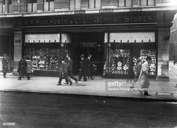 A Woolworth Store in Holborn London
