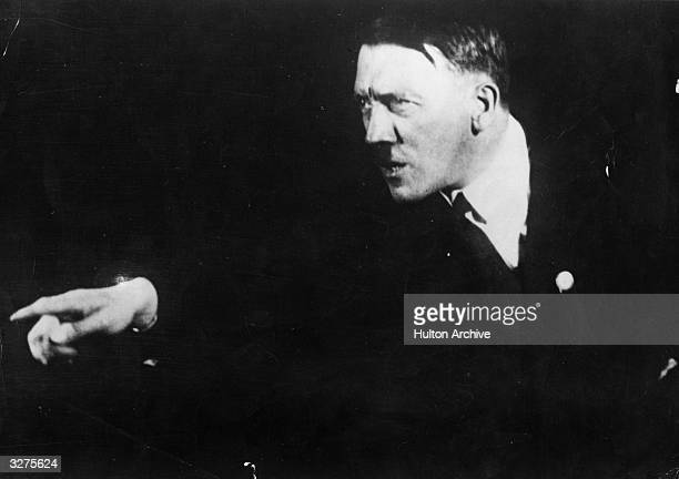 Adolf Hitler the German dictator