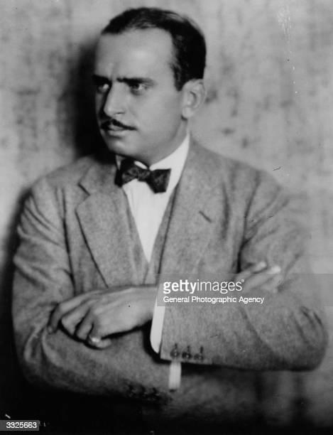 American actor Douglas Fairbanks Senior .