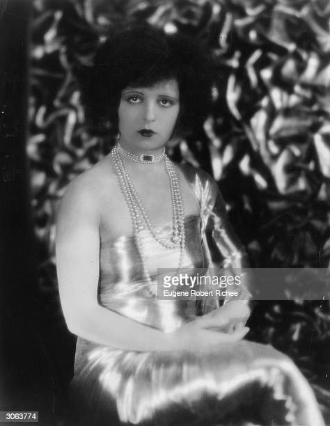 American actress Clara Bow known as the 'It' girl of the Roaring Twenties