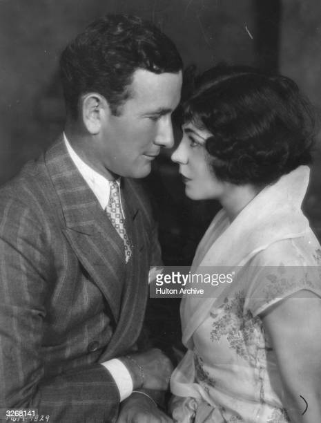 American film star Renee Adoree with her husband William Gill
