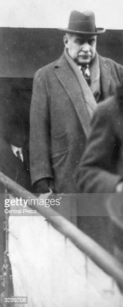 American financier John Pierpont Morgan Jr