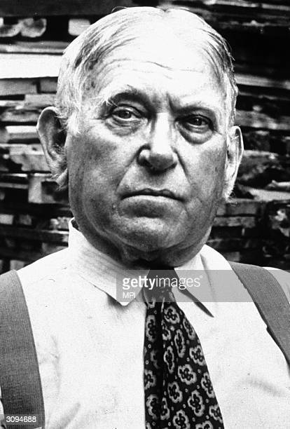 American journalist H L Mencken who was associated with the Baltimore Sun for most of his career.