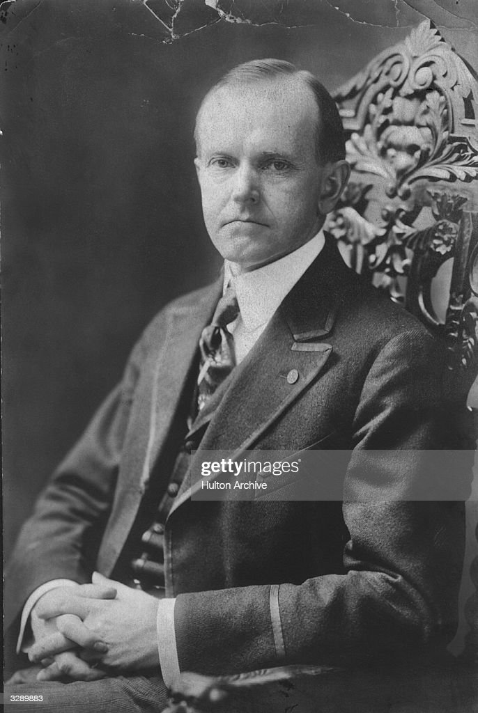 Calvin Coolidge : News Photo
