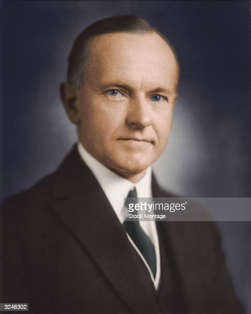 Calvin Coolidge thirtieth president of the United States of America