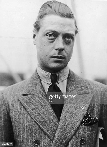 Edward Windsor Prince of Wales He became King Edward VIII in 1936 but abdicated the same year taking the title Duke of Windsor