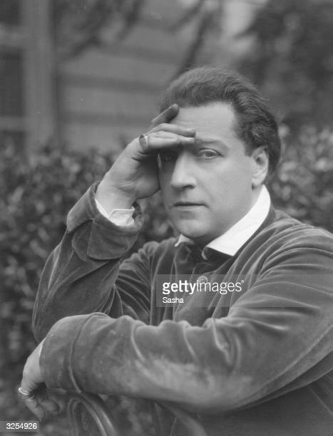 French playwright and actor Sacha Guitry