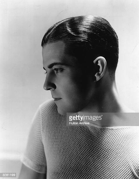 Hollwood actor and film star Ramon Novarro signed by MGM